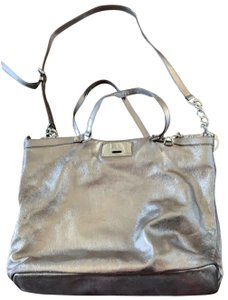 Michael Kors Tote in gunmetal