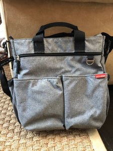 Skip Hop Functional Convenient Classic heather gray Diaper Bag
