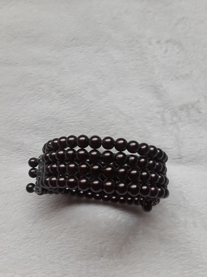 Other Vintage Four row pearl choker Image 3
