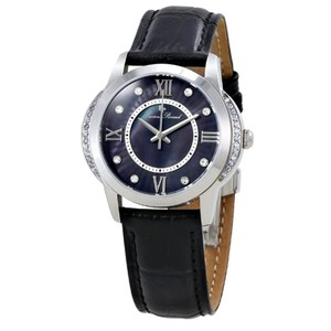Lucien Piccard Dalida Mother Of Pearl Dial Stainless Steel Ladies Leather Watch