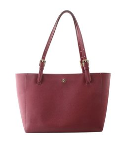 Tory Burch Leather Pre-owned Unknown Fabric Tote in Red