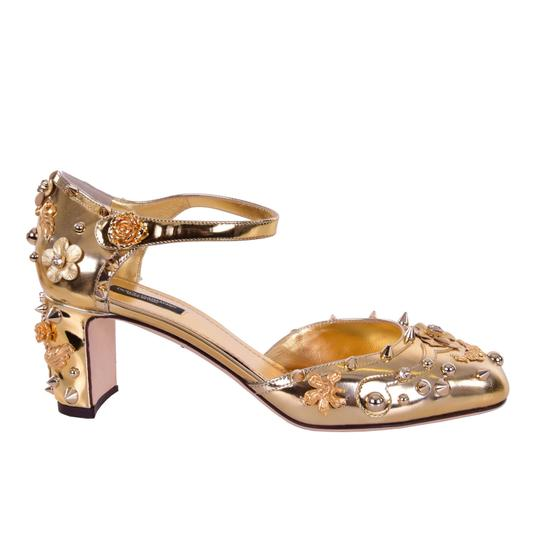 Preload https://img-static.tradesy.com/item/24494504/dolce-and-gabbana-dolce-and-gabbana-studded-crystals-baroque-gold-pumps-size-us-10-regular-m-b-0-0-540-540.jpg
