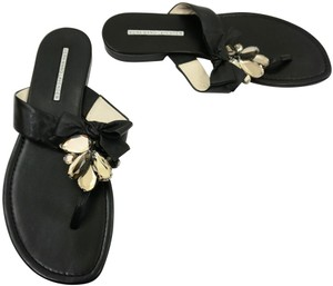 Vera Wang Lavender Label Black Sandals