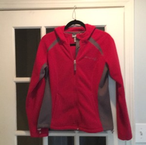 Free Country Red w Gray trim Jacket