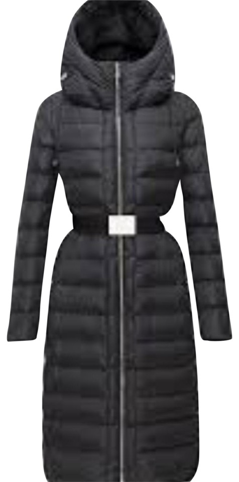 177c4b1768af Moncler Black Imin Long Quilted Puffer Jacket Coat Size 0 (XS) - Tradesy
