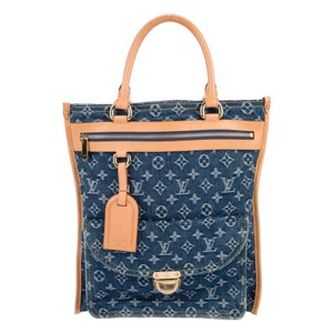 Louis Vuitton Tote in Blue Wash