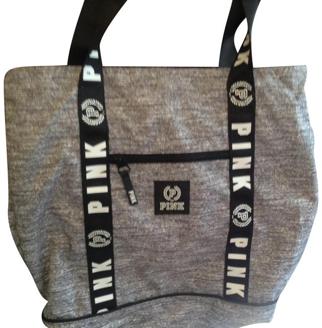 Item - Holiday Special Pink-victoria's Large Grey Tote