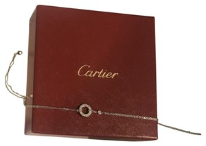 Cartier Love Necklace with two diamondd