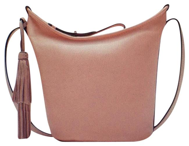 Item - Bucket Handbag 2015 Collection with Tas Pale Pink Leather Hobo Bag