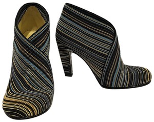 United Nude Fabric Multicolor Rubber Sole Black-Yellow-Blue Boots