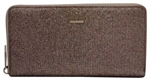 Kate Spade With Tags Rose Gold Glitter Clutch