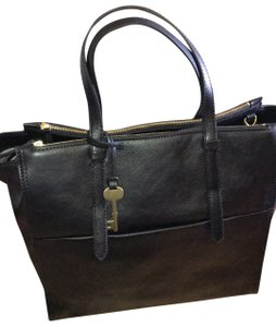 Fossil Tote In Black