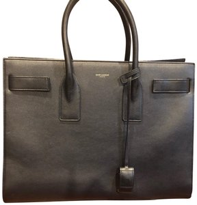 Saint Laurent Tote in Dark Navy