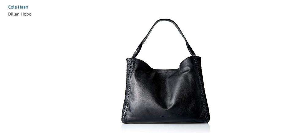 5a97011947ad5 Cole Haan Dillan Single Strap Purse Black Leather Hobo Bag - Tradesy