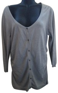 Maurices Metallic Sparkly Glittery Ruched Winter Cardigan