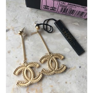 Chanel Chanel CC Chain Dangle Earrings