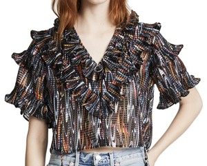 Opening Ceremony Ruffle Top Multi