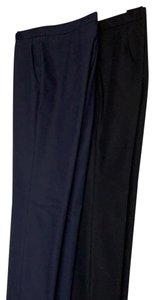 Theory Boot Cut Pants Black and blue