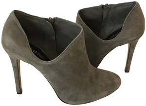 Sole Society Olive Green Lyriq Suede TAUPE Boots