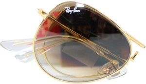 Ray-Ban Ray-Ban RB3479 001/51 Folding Aviator gold Frame / brown Gradient Lens