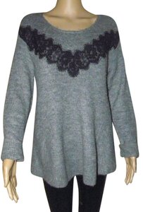 Elle Long Sleeve Sweater Tops Business Casual Tunic