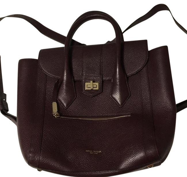 Item - Rivington Convertible Tote/Backpack Deep Purple Saffiano Leather Backpack
