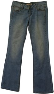 Candie's Light Wash Boot Cut Jeans-Light Wash