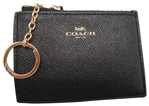 Coach Coach Key Pouch Card Case Coin Purse Leather