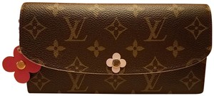 Louis Vuitton Emilie Bloom Monogram Wallet NEW with BOX