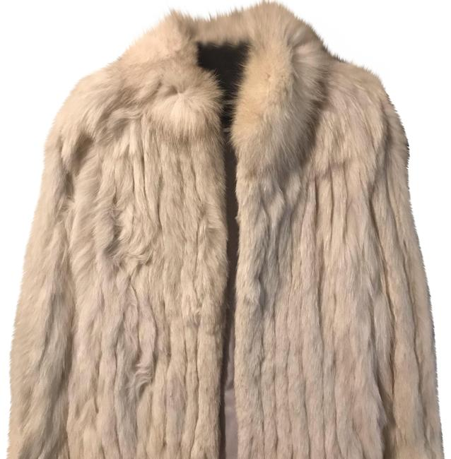 Item - Silver Genuine Fox From Coat Size 2 (XS)