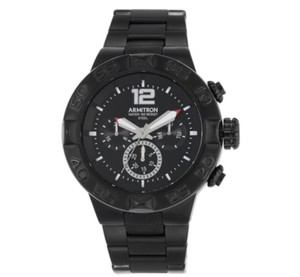 Armitron Armitron Men's Multifunction Black Bracelet Watch 20/5198BKTI