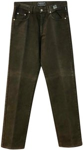 Versace Jeans Collection Straight Pants Dark Brown