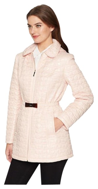 Item - Pink Quilted Puffer Coat Size 12 (L)