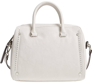 Sole Society Satchel in White