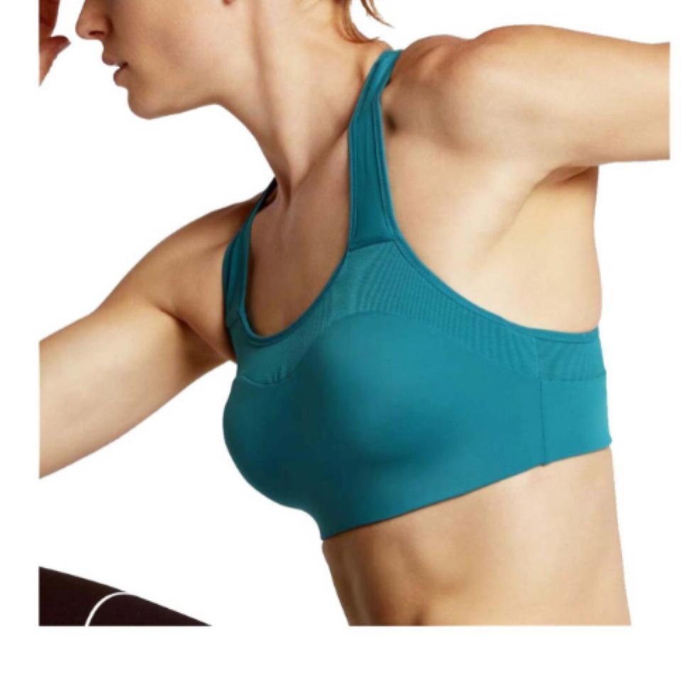 df18323663864 Nike Blue Pro Alpha Training Activewear Sports Bra Size 8 (M) - Tradesy
