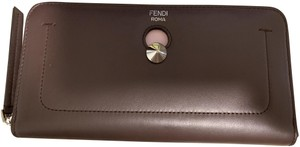 Fendi Dotcom Zip Wallet