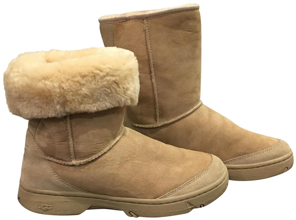 c6a6113e8be UGG Australia Tan Ultra Revival Genuine Shearling (G31) Boots/Booties Size  US 10 Regular (M, B) 54% off retail