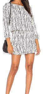 Soft Joie short dress Black and White on Tradesy
