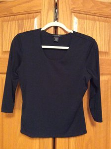 Carilyn Vaile Pullover Top Black