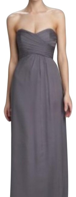 Item - Slate Strapless Sweetheart Gown Long Formal Dress Size 8 (M)