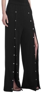 T by Alexander Wang Wide Leg Pants Black