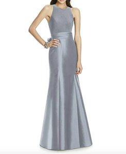 Alfred Sung Platinum Blend 2/4 Feminine Bridesmaid/Mob Dress Size 4 (S)