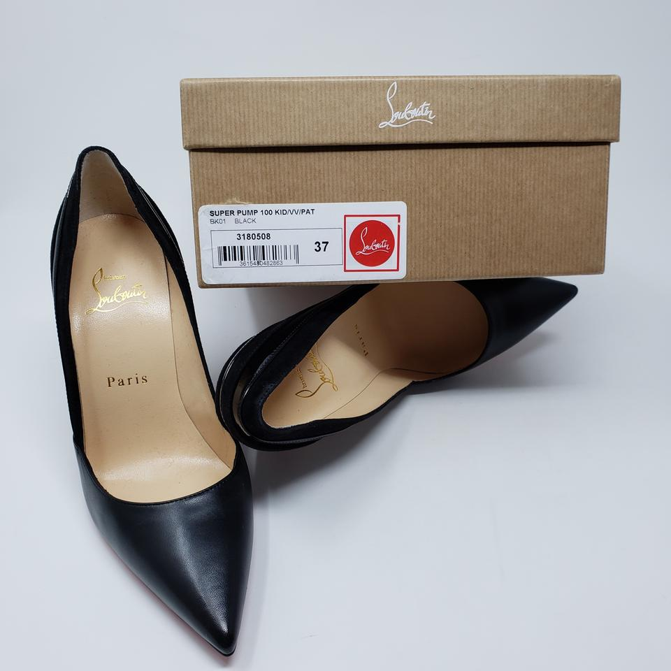 2e8cf9f2b93a Christian Louboutin Super Pointed Toe Patent Leather So Kate Pigalle Black  Pumps Image 10. 1234567891011
