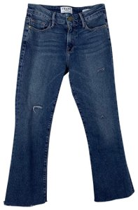 FRAME Boot Cut Jeans-Distressed