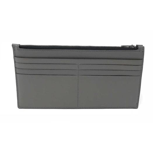Coach Coach Men's Zip Phone Wallet In Heather Grey Calf Leather