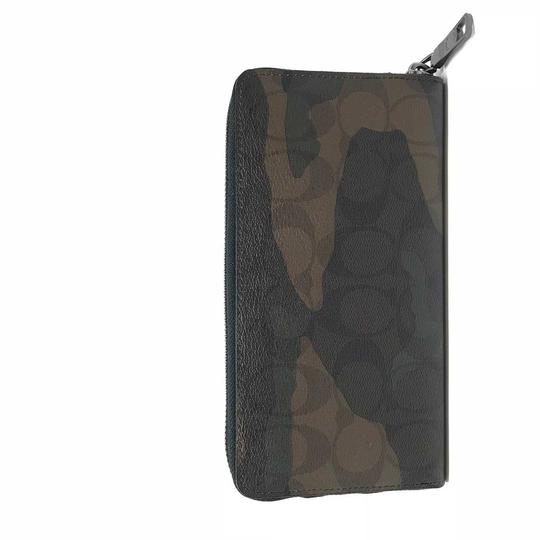Coach Coach Men's Boxed Accordion Wallet Gift Set In Signature Canvas Camo