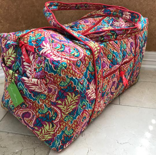 Vera Bradley paisley in paradise Travel Bag