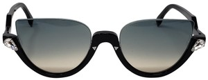 Fendi Black Fendi Crystal embellished sunglasses