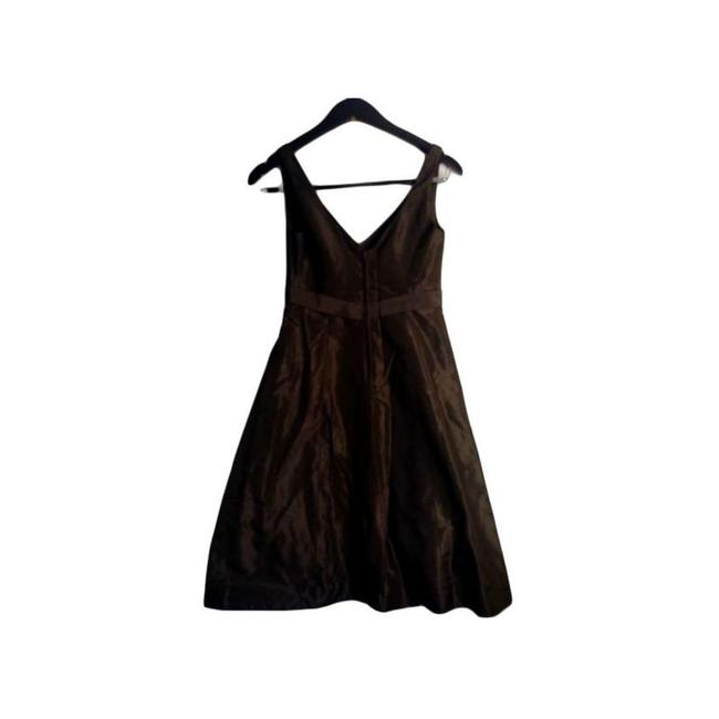 Item - Brown Chocolate Short Casual Dress Size 2 (XS)