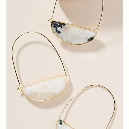 Anthropologie Anthropologie crescent earring